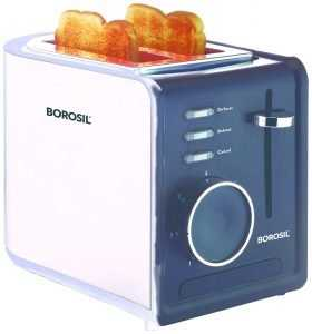 Borosil BTO850WSS21 850-Watt Krispy Pop-up Toaster
