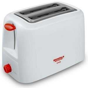 Maharaja Whiteline Viva 750-Watt Pop-up Toaster