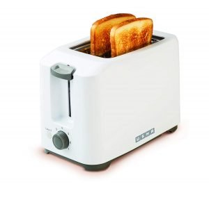 Usha 3720 700-Watt 2-Slice Pop-up Toaster (White)