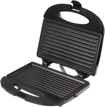 Solimo Non-Stick Grill Sandwich Maker 750W