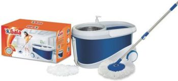 Gala Spin Mop with Stainless Steel Wringer with 2 Refill the Best Mop