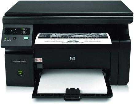 HP LaserJet Pro M1136 Monochrome Laser Printer