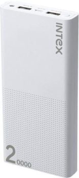 Best Power bank in India is IntexIT-PB20KPoly 20000 mAh Power Bank