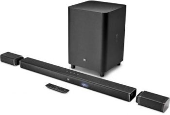 JBL 5.1 Channel 4K Ultra HD Sound bar with True Wireless Surround Speakers