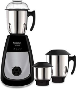 Maharaja Whiteline Joy Turbo 750W Mixer Grinder with 3 Jars