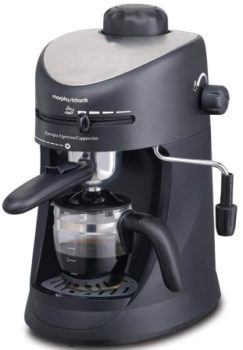 Morphy Richards New Europa 800-Watt Espresso and Cappuccino 4-Cup, Best Coffee Maker in india