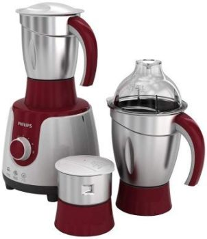 Philips HL 7720 750-Watt Mixer Grinder With 3 Jars (Multicolour) the Best Mixer Grinder by Philips