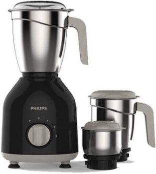 Philips HL 7756 750W Mixer Grinder with 3 Jars