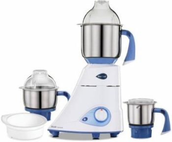 Preethi Blue Leaf Diamond 750-Watt Mixer Grinder with 3 Jars, Best Mixer Grinder in India 2021