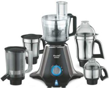 Best Mixer Grinder in India Preethi Zodiac MG 218 750W Mixer Grinder with 5 jars
