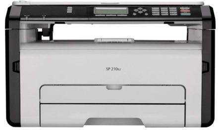 Ricoh SP210SU Multi-Function  Monochrome Laser Printer