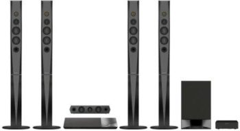 Best Home Theater System in India by Sony named Sony BDV-N9200W 3DBlu-Ray BT Home Theater System