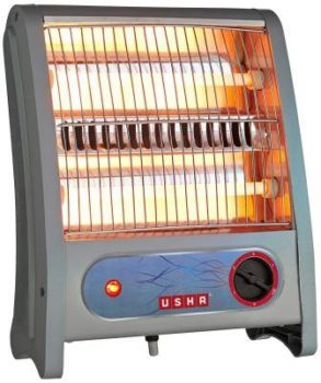 Usha Quartz-3002 800W Room Heater with Over Headting protection