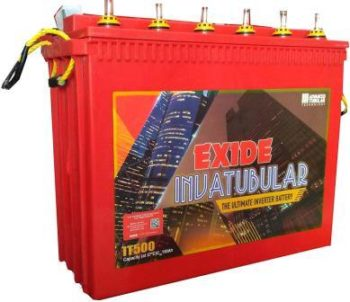 Exide IT-500 150AH Tall Tubular Battery, Best Inverter Battery in India