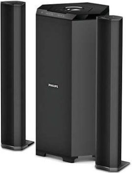 Philips MMS8085B/94 2.1 Channel Convertible Multimedia Speaker System, Best 2.1 Speakers in India 2021