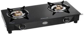Sunflame GT Pride 2 Burner Gas Stove, Best 2 Burner Gas Stove in India