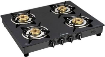 Sunflame GT Pride 4 Burner Glass Top the best Gas Stove in India 2021