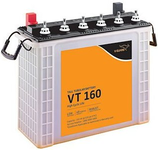 V-Guard VT160 150Ah Tall Tubular Inverter Battery, Best Inverter Battery in India 2021