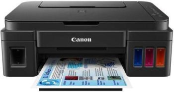 Canon Pixma G3000 Wireless Ink Tank Colour All-in-One Printer, Best Printer For Home Use In India 2021