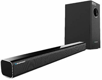 Best Soundbar in India Under 10000, Blaupunkt SBW02 100W Wired Dolby Soundbar with Subwoofer Bluetooth and HDMI Arc