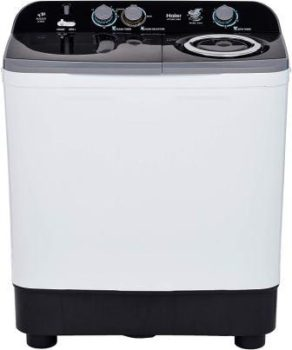 Haier 9.5 Kg Semi-Automatic Top Loading Washing Machine (HTW95-186S