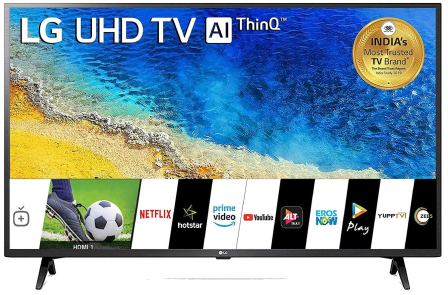 LG 43-inches 4k UHD Best 43 Inch LED TV in India (43UM7290PTF)