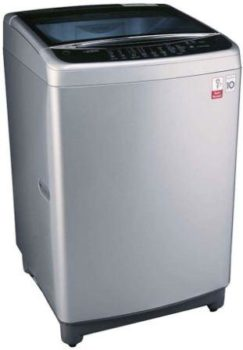 LG 8 kg Inverter Fully-Automatic Top Loading Washing Machine (T9077NEDL1)