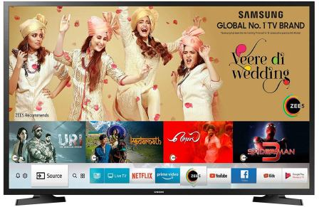 Samsung 40-Inches Smart 7-in-1 Full HD Best 40 Inch LED TV in India (UA40N5200ARXXL)
