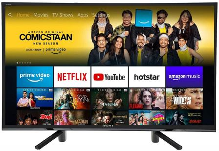 Sony Bravia 32-inches HD Ready LED Television with Fire TV Stick (KLV-32R422F)