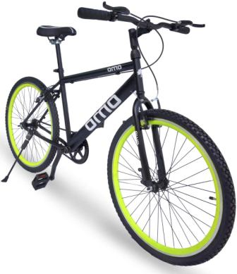 Omobikes Model-1.0 Lightweight13kg Fast Light Weight Hybrid Cycle with Alloy Rims Anti Rust Frame, Best Hybrid Bicyle in India 2021