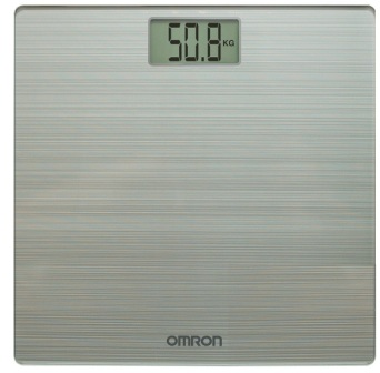 Omron HN 286 Ultra Thin Automatic Personal Digital Weight Scale With Large LCD Display and 4 Sensor Technology For Accurate Weight Measurement, Best Weighing Machine in India 2021