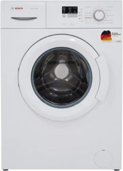 Best Washing Machine Below 20000, Bosch 6 kg Fully-Automatic Front Loading Washing Machine (WAB16060IN, White, Inbuilt Heater)