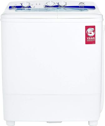 Godrej GWS 6203 PPD 6.2 kg Semi-Automatic Washer