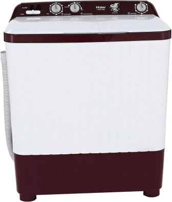 Haier HTW62-187BO 6.2 kg Semi-Automatic Top Loading Washing Machine