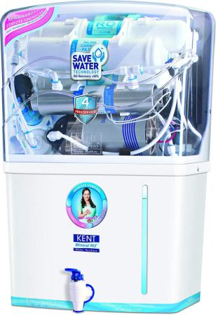 KENT Grand 8-Litres Wall-Mountable RO + UV + UF + TDS Controller the Best UV Water Purifier
