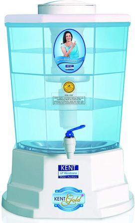 KENT Gold+ 20-litres Gravity Based Best Non electric Water Purifier
