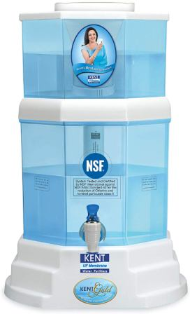 KENT Gold 20-litres UF Technology Best Gravity Based Water Purifier