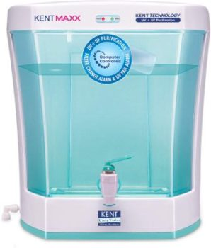 KENT Maxx 7-Litres Wall Mountable Table Top UV + UF, best water purifier below10000