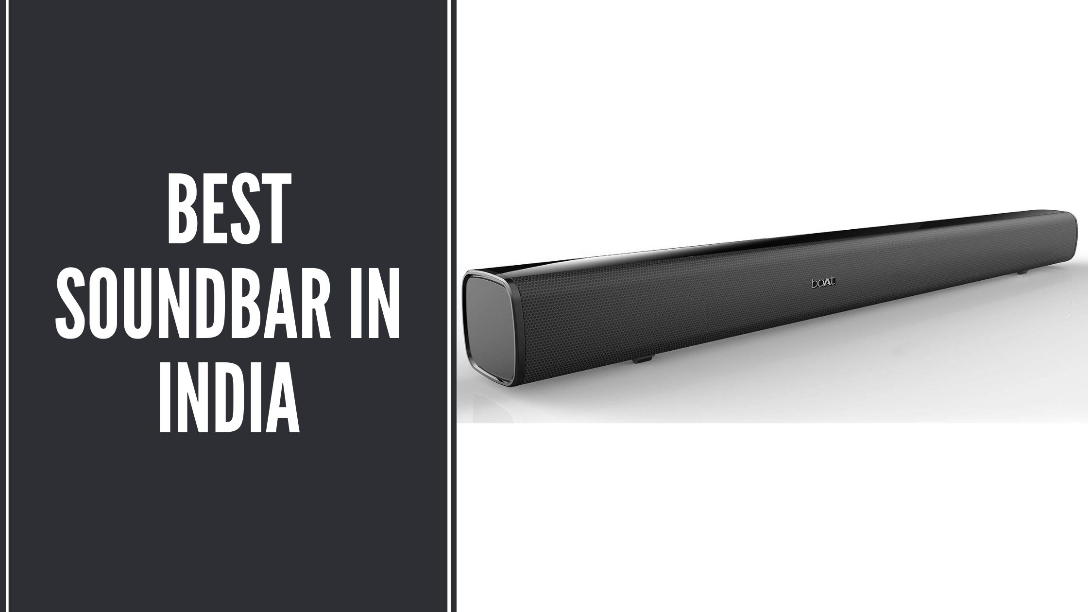 Best Soundbar in India