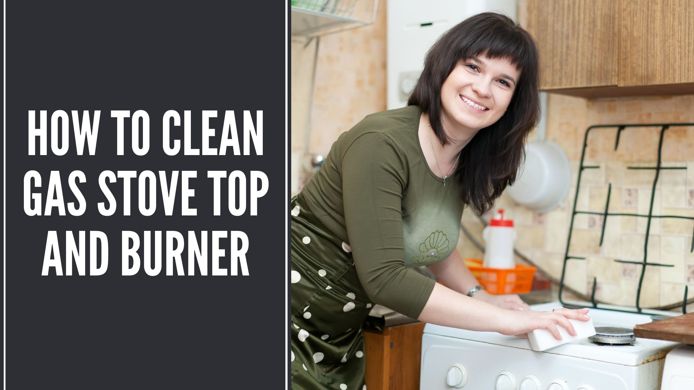How to Clean Gas Stove Top and Burner