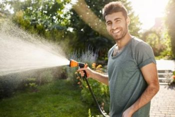 Saving water with other outdoor activities