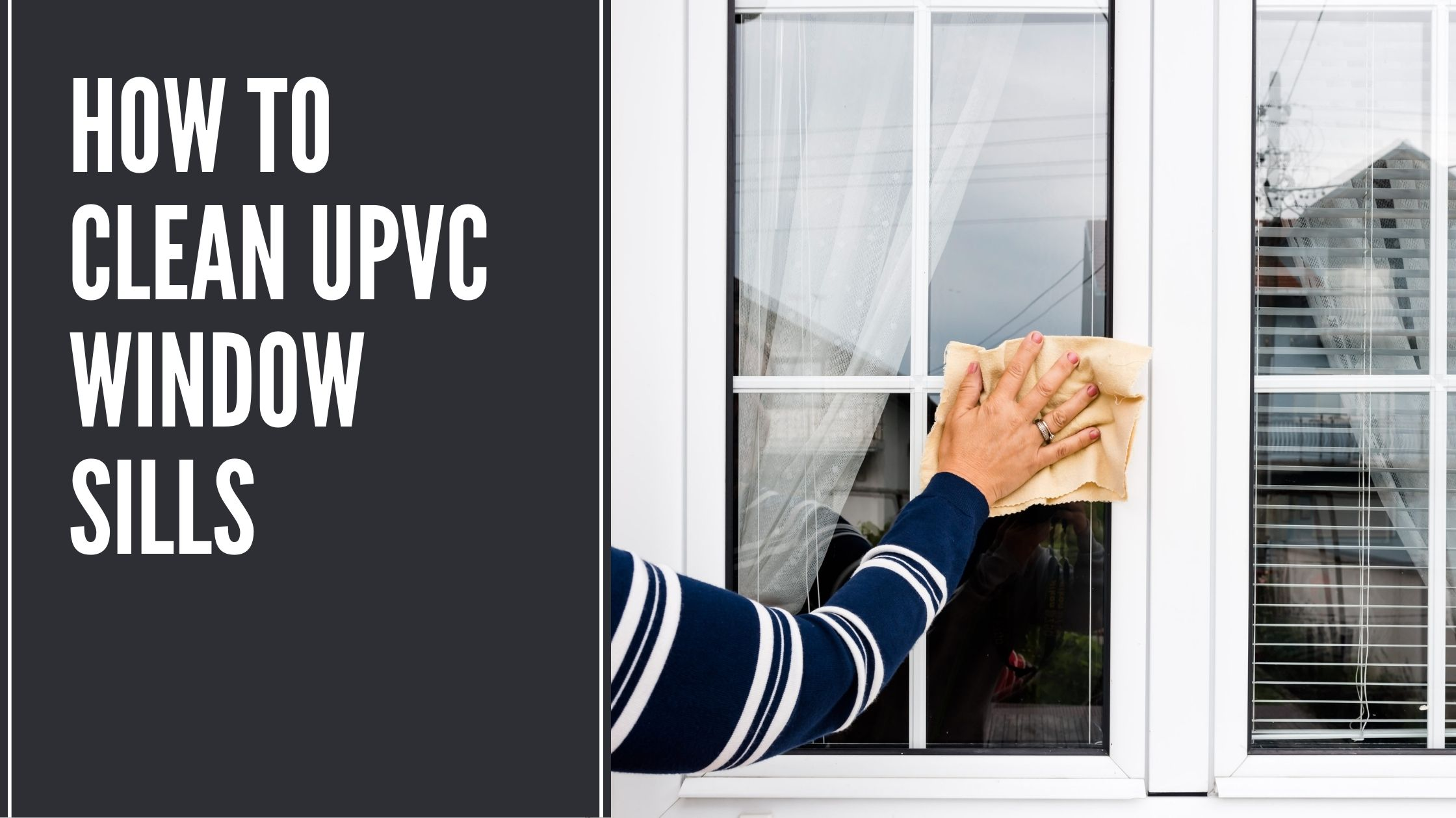 How to Clean uPVC Window Sills