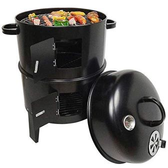 Peng Essentials 3 in 1 Barrel Charcoal Barbeque Grill Best Barbeque Grill in India